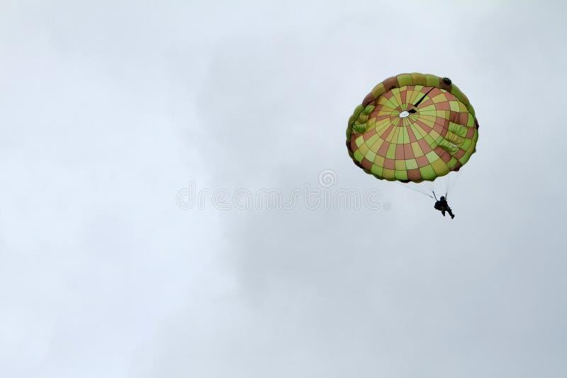 Airshow del paracaidista foto de archivo libre de regalías