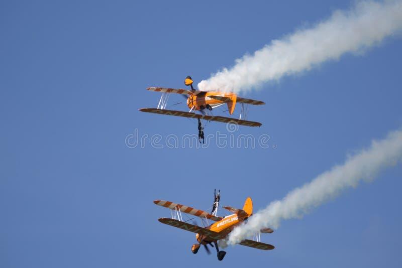Airshow do aeródromo de Abingdon imagem de stock