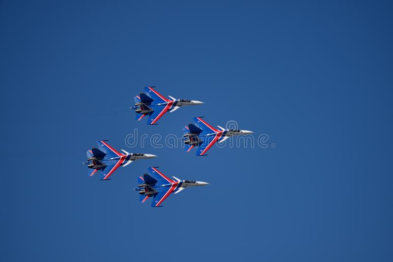 airshow Don obrazy royalty free