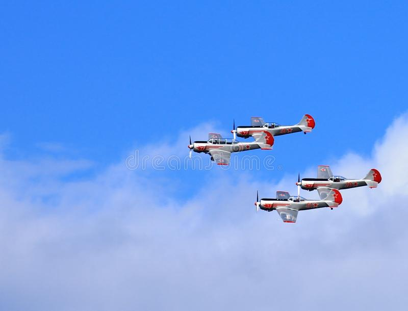Airshow royalty free stock photography