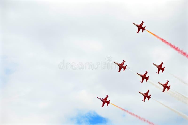 Airshow Italie militaire l'Europe photos stock