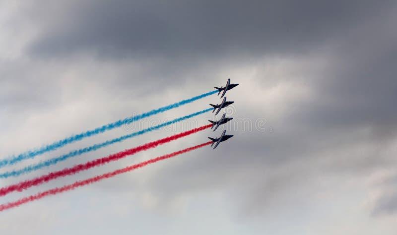 Airshow MAX-2009 em Rússia imagem de stock