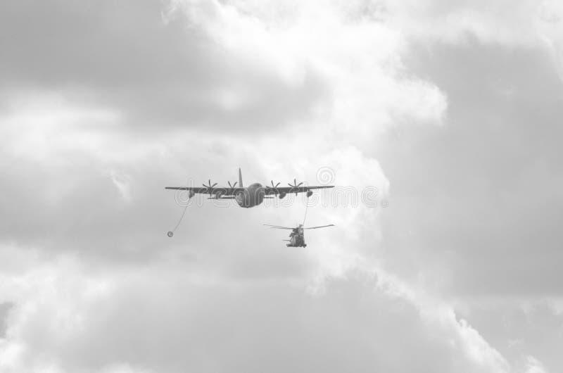 Airshow Militär-Italien Europa lizenzfreies stockbild