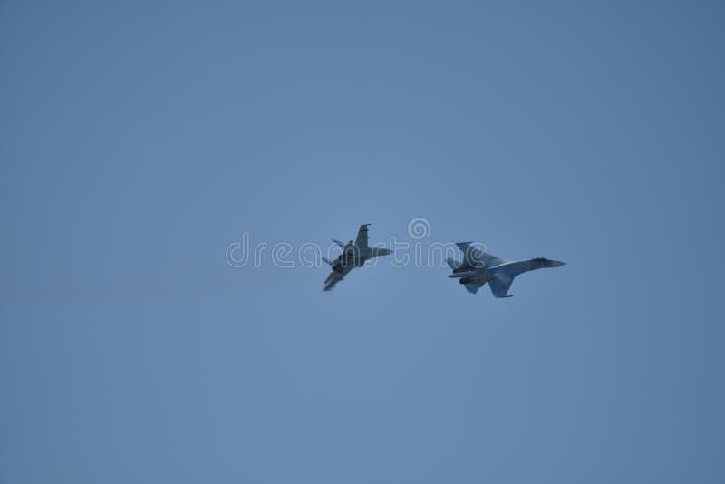 airshow Rostov-On-Don fotografia stock libera da diritti