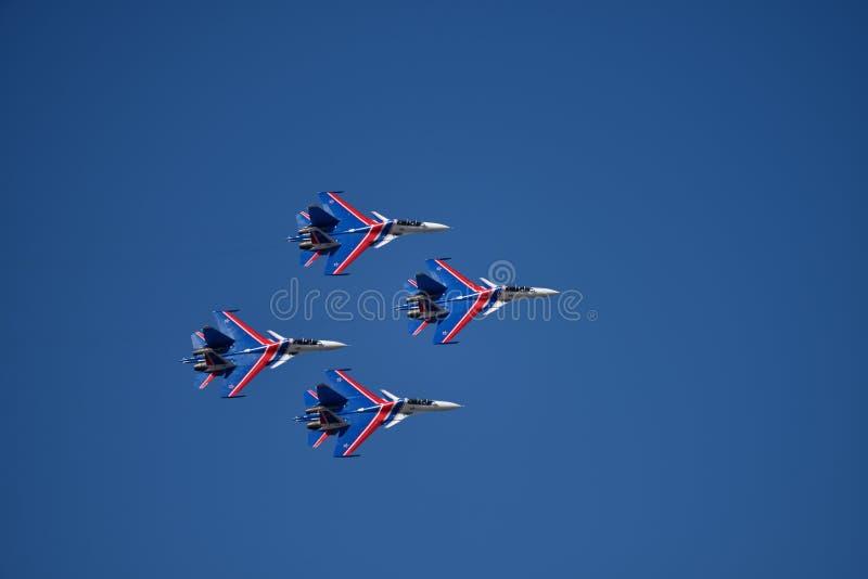 airshow Rostov-On-Don immagini stock libere da diritti