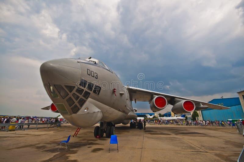Airshow 2015 SNEDHET Bucharest arkivfoton