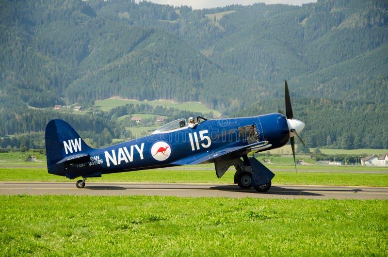 Airshow in Zeltweg stock image