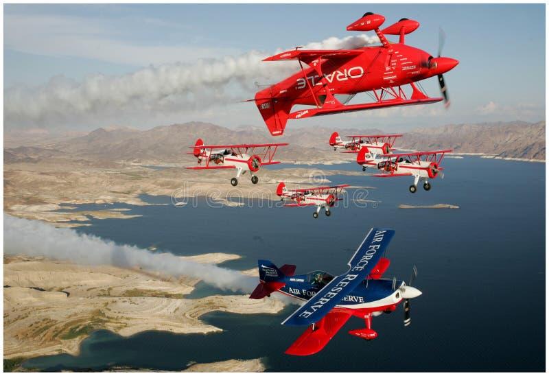 Airshow3 fotos de stock royalty free
