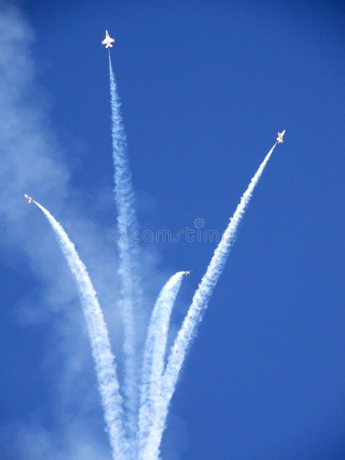 Airshowspleet royalty-vrije stock afbeelding