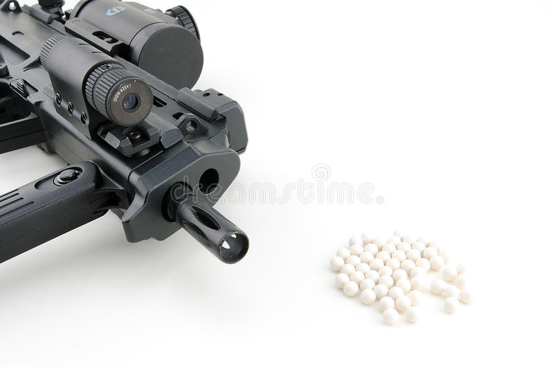 Download Airsoft Gun With Bullet Ball Stock Photo - Image of soft, bullet: 28329412