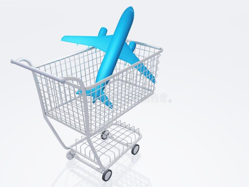 Download Airtravel Shopping stock illustration. Image of illustration - 21644230