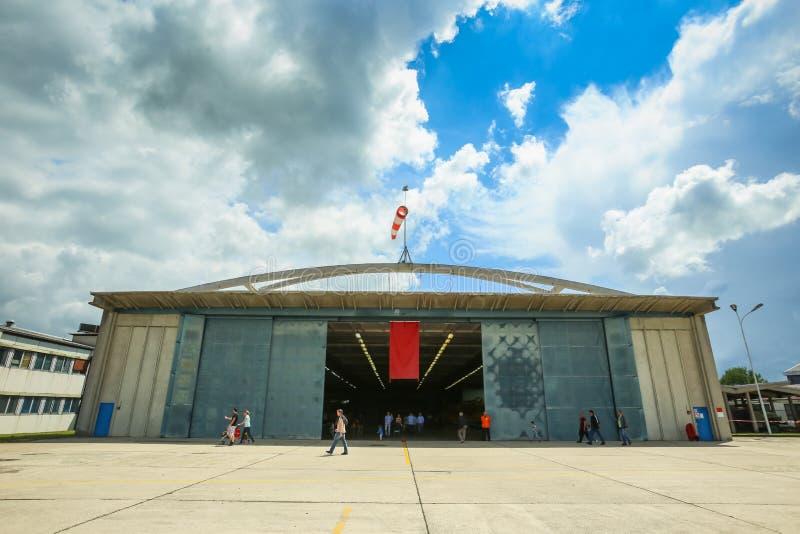 AIRVG2017 lotnictwa dzień w Velika Gorica obrazy stock