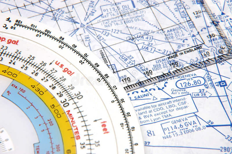 Airway Navigation 2 royalty free stock photo