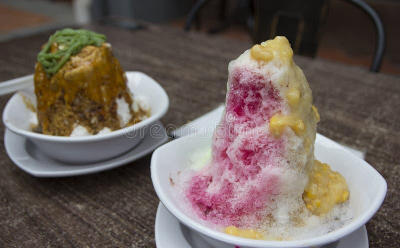 Ais kacang, Malaysian cold dessert. Or Air Batu Campur royalty free stock photos