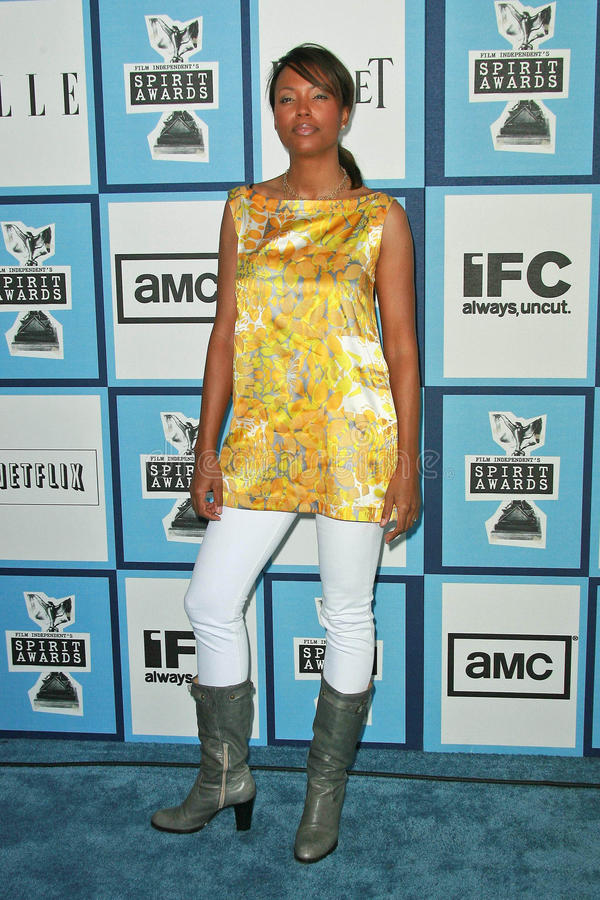 Download Aisha Tyler redaktionell foto. Bild av monica, film, utmärkelsear - 37345430