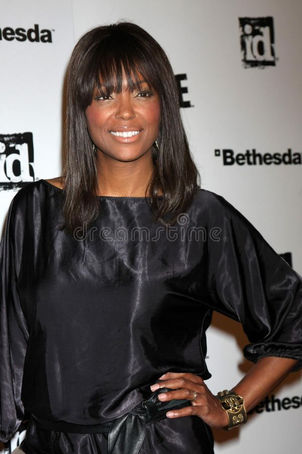 Download Aisha Tyler, Rage Editorial Stock Image - Image: 22800894