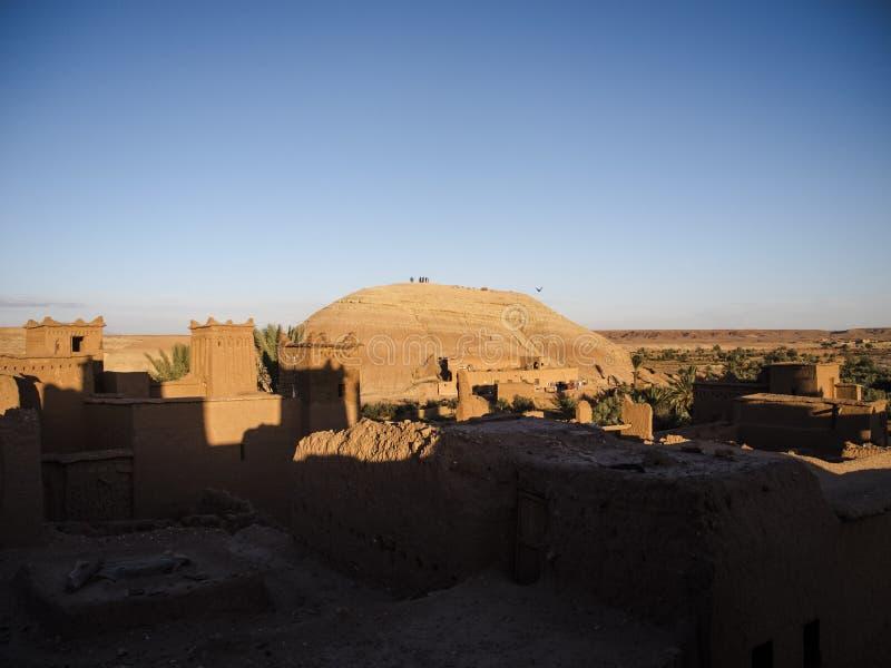 Ait本haddou在摩洛哥 免版税库存照片