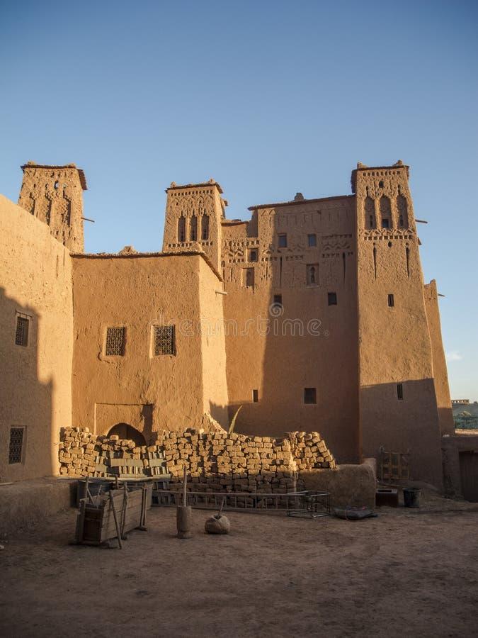 Ait本haddou在摩洛哥 免版税图库摄影