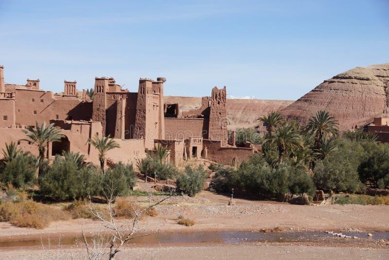 Ait本Haddou Marokko 库存图片