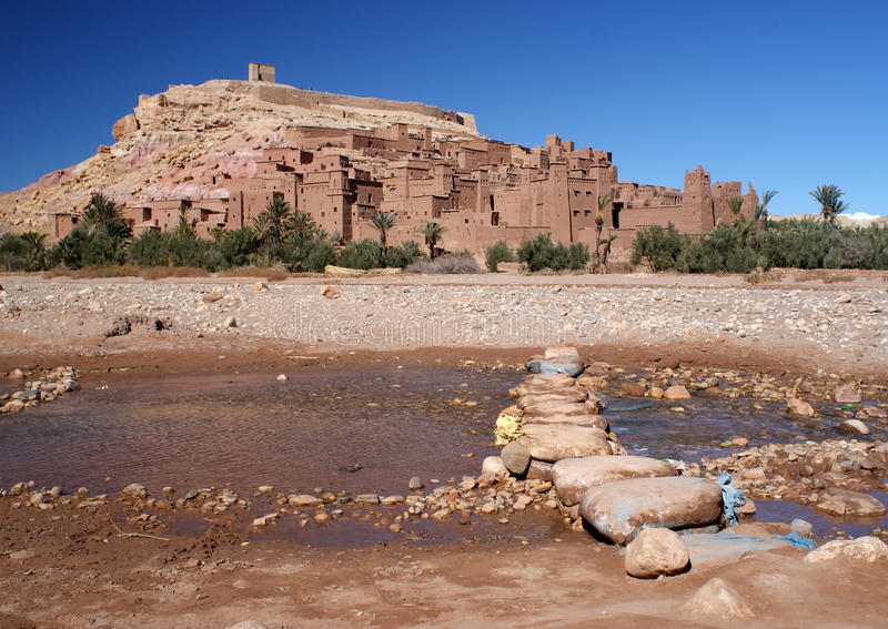 Download Ait Ben Haddou stock image. Image of fortified, heritage - 24444083
