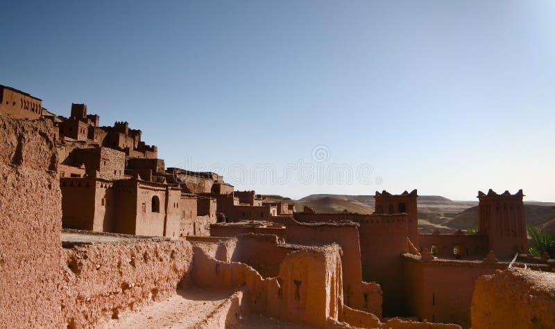 ait Ben haddou kasbah zdjęcie royalty free