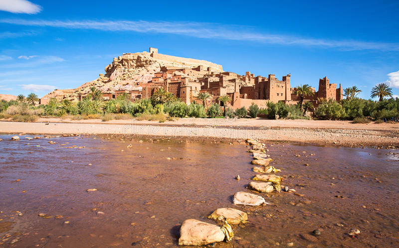 Ait Ben Haddou, Maroc photo stock