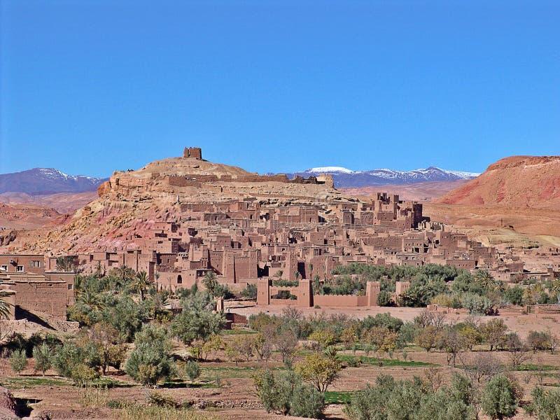Ait Ben Haddou, Marocco fotografia stock libera da diritti