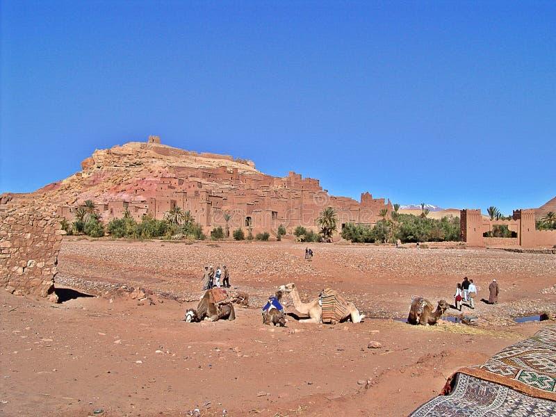 Ait Ben Haddou, Marokko stockfoto
