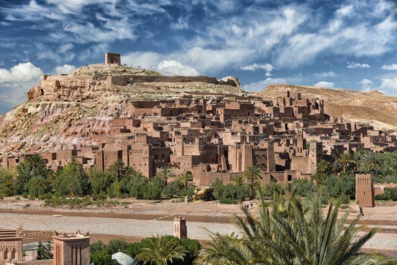 Ait Ben Haddou, Morocco royalty free stock image