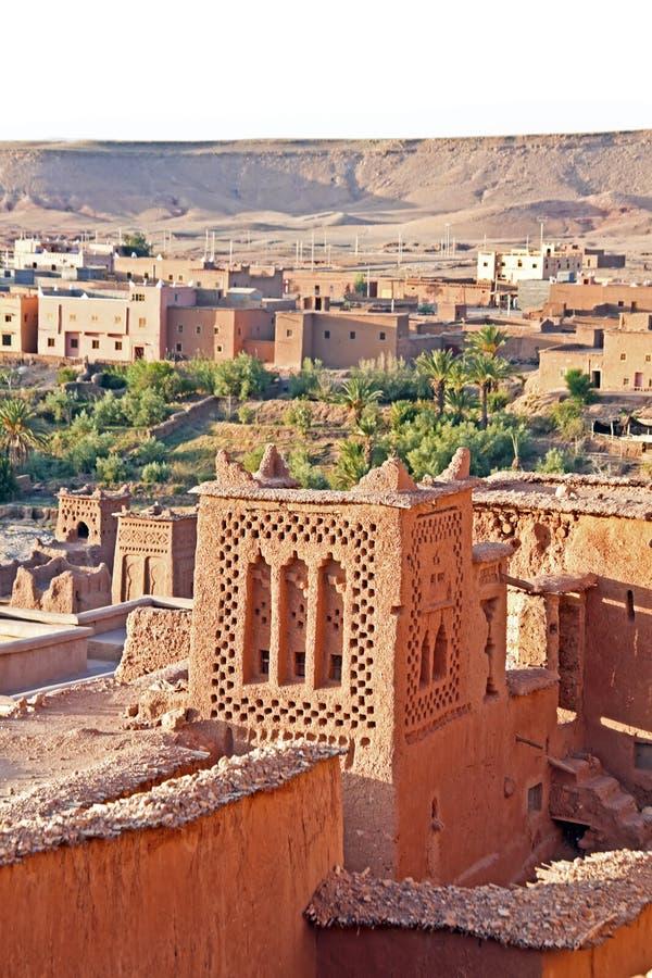 Ait Ben Haddou Nära Ouarzazate Marocko Arkivfoto