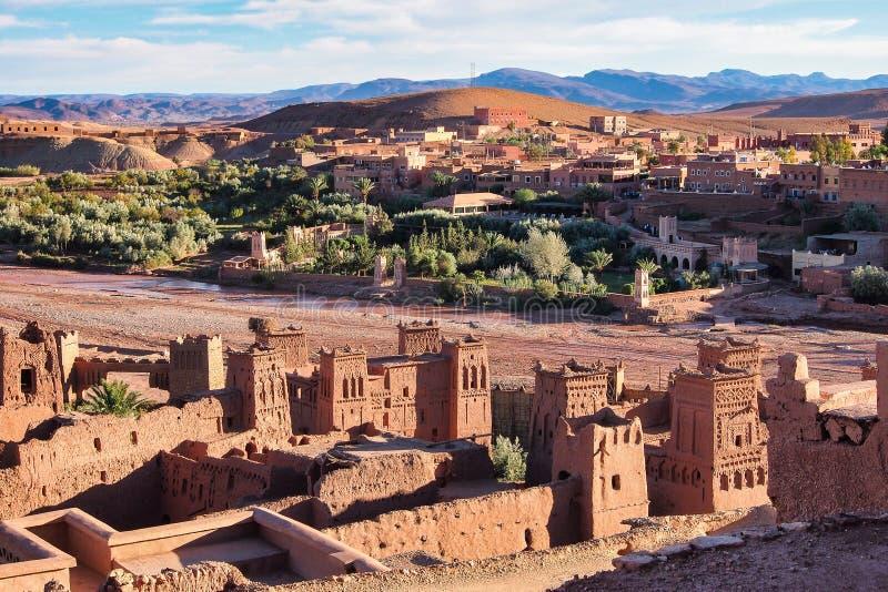 Ait Ben Haddou ouarzazate πλησίον στο Μαρόκο στοκ εικόνες
