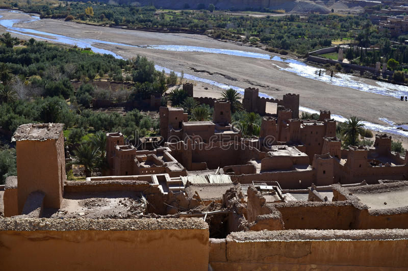 ait ben haddou royalty free stock images