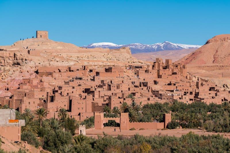 ait benhaddou摩洛哥 库存照片