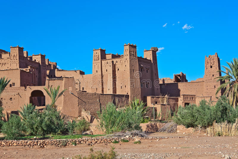 ait benhaddou Μαρόκο στοκ εικόνες