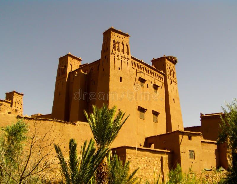 Ait Benhaddou Fort royaltyfria bilder