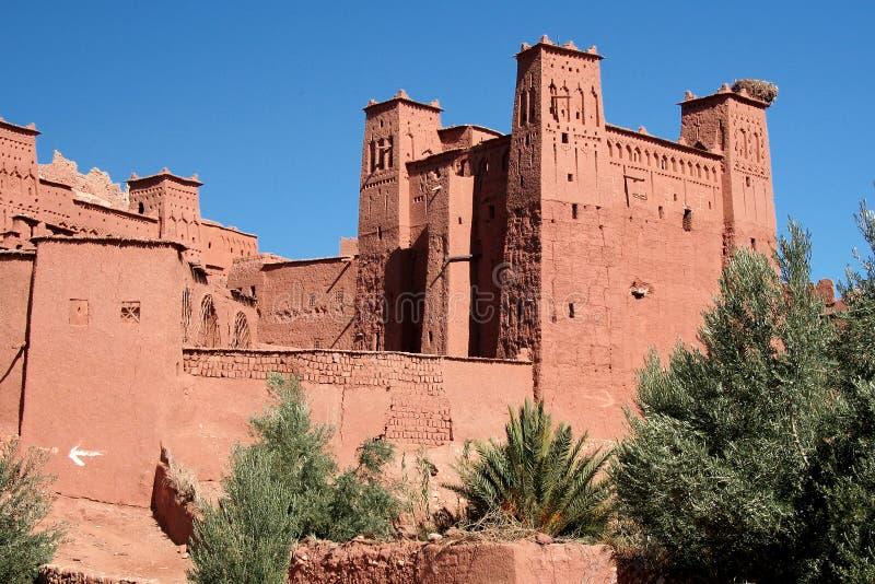 Ait Benhaddou fortress royalty free stock photo