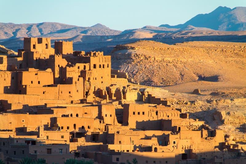 Ait Benhaddou kasbah, Ouarzazate, Marocco fotografia stock
