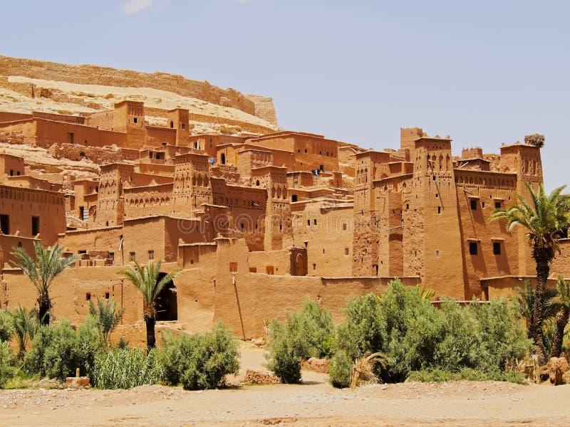 Ait Benhaddou Marocko fotografering för bildbyråer
