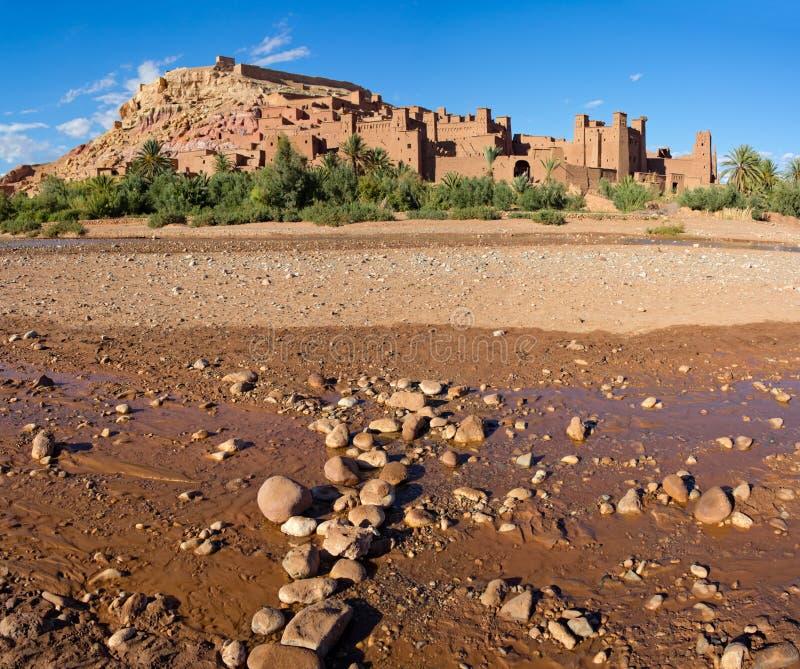 AIT Benhaddou, Marrocos foto de stock