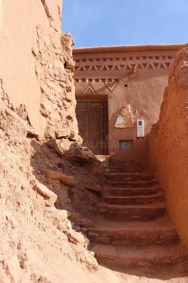 Ait Benhaddou, Morocca Африка стоковые изображения rf
