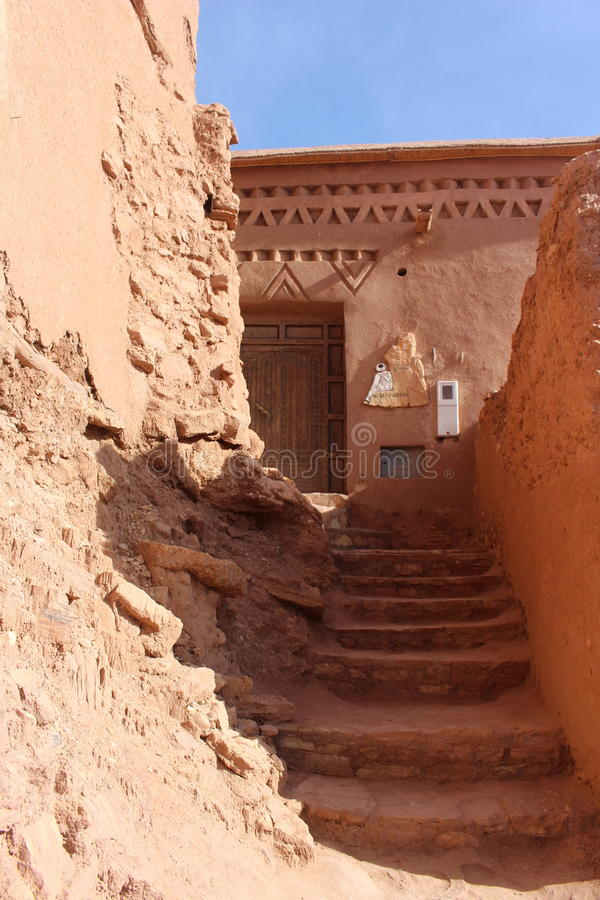 Ait Benhaddou, Morocca Africa royalty free stock images