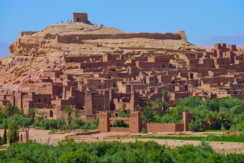Ait Benhaddou Morocco fotografía de archivo libre de regalías