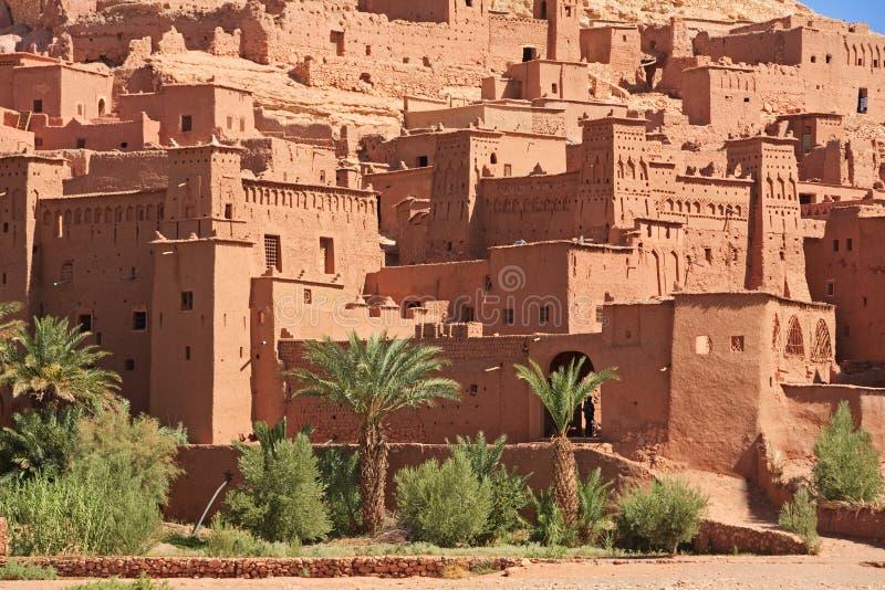 ait-benhaddoucasbah morocco arkivbild