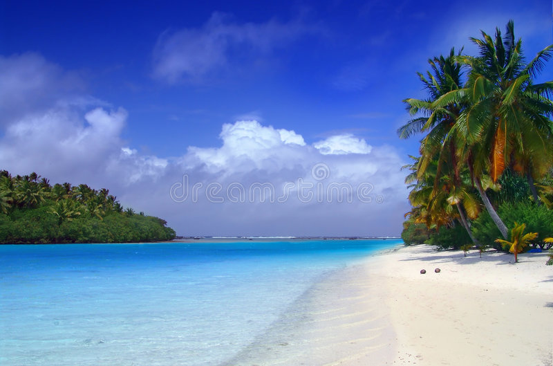 Aitutaki Dream royalty free stock images