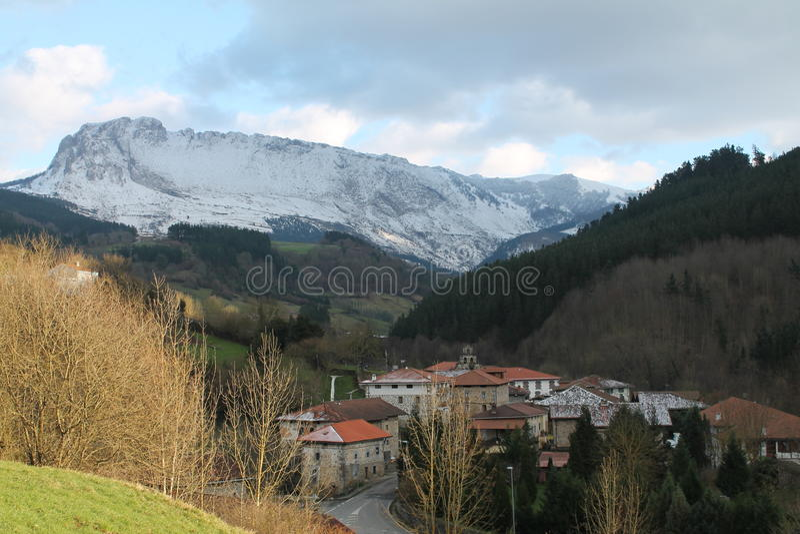 Aitzkorrigane Mendia, Orozko & x28; País Basque & x29; fotografia de stock