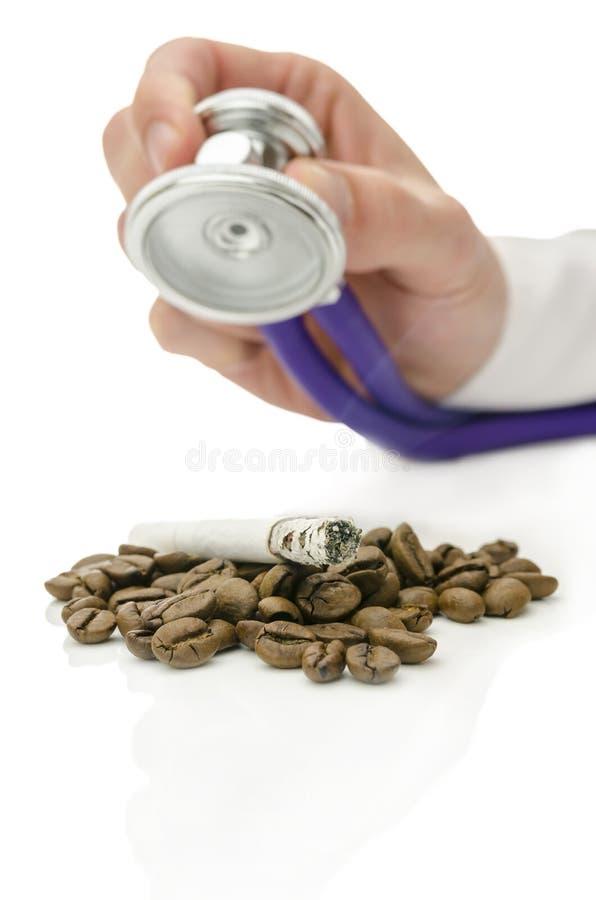 Aiuto per dipendenza di fumo fotografia stock
