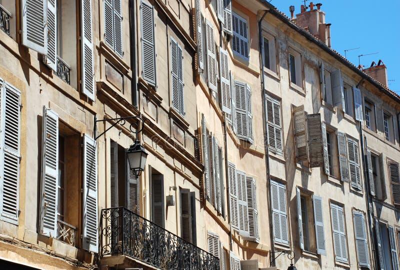 aix en法国南的普罗旺斯 库存图片