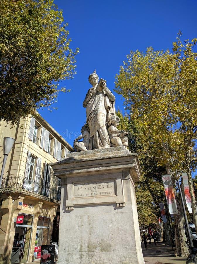 Aix en Provence fotografia stock