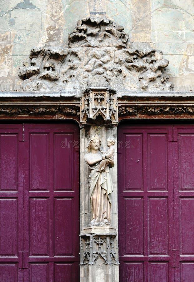 aix katedry en Provence obraz stock
