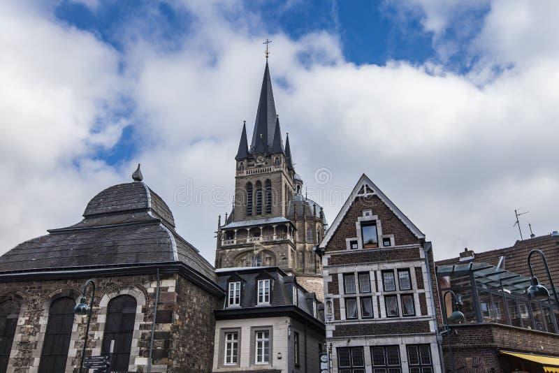 Download Aix-la-Chapelle, Allemagne image éditorial. Image du grand - 76089290